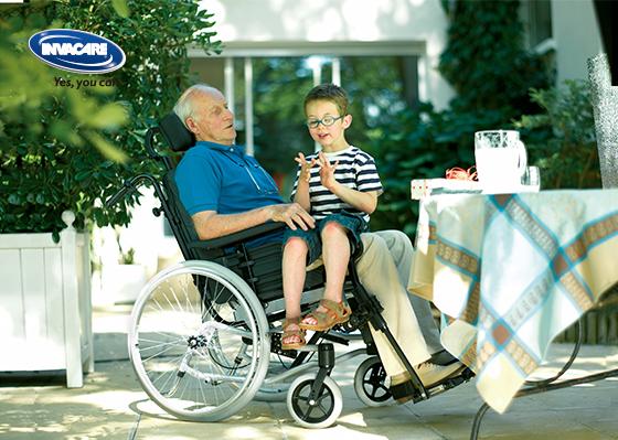 INVACARE 英維康Rea Clematis 躺式輪椅 5
